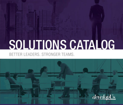 developUs Solutions Catalogue